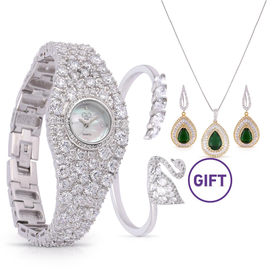 Celestial Diamond Jewelry Watch & Gifts