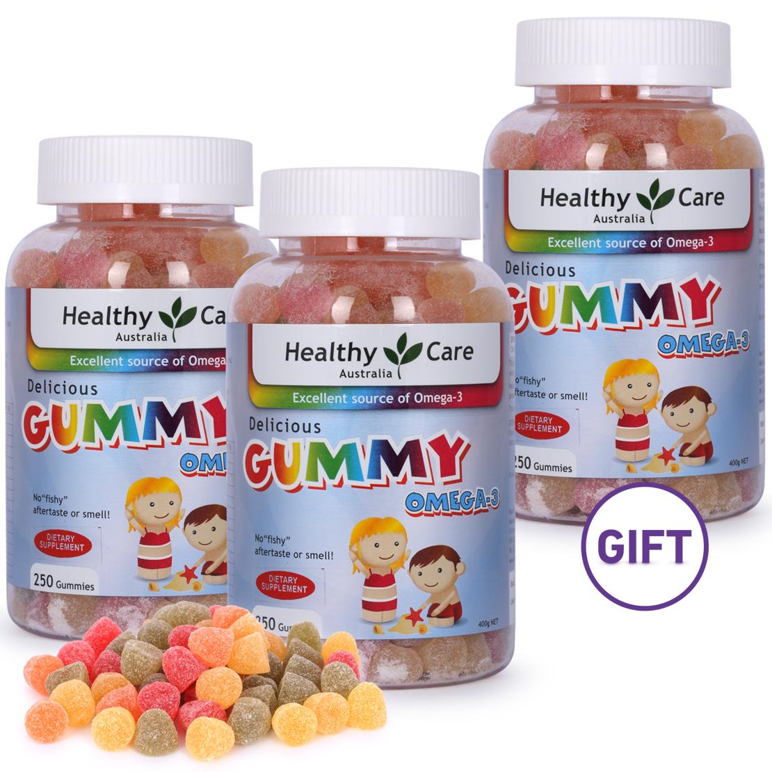 Omega 3 Kids Gummies - Buy 2 Get 1 Free