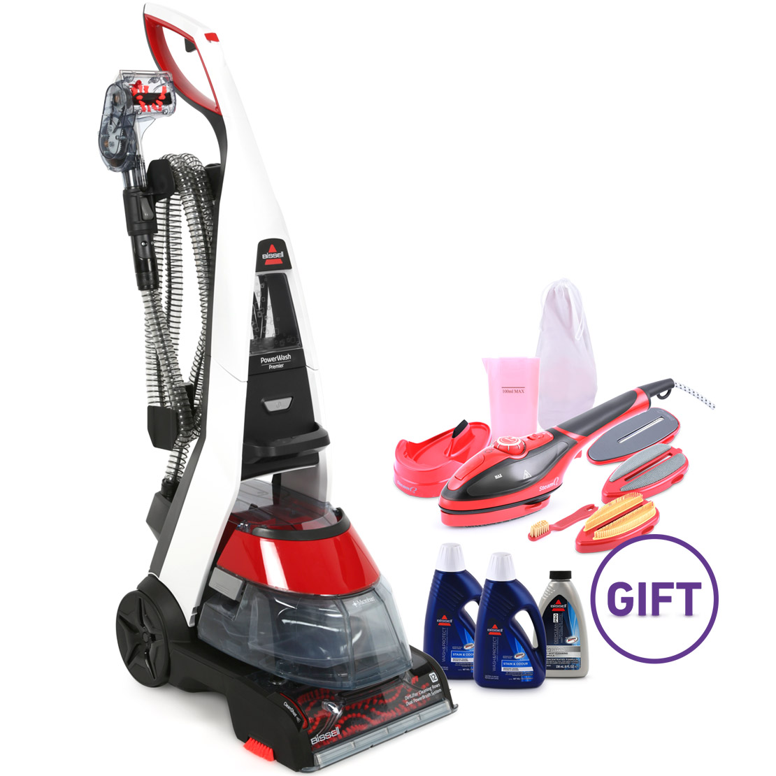 Deep Clean Premier Carpet Cleaner & Gifts