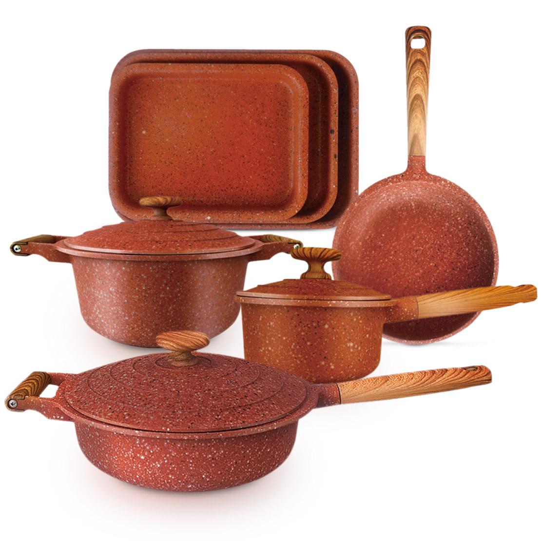 Cefrun Granite Cookware Set