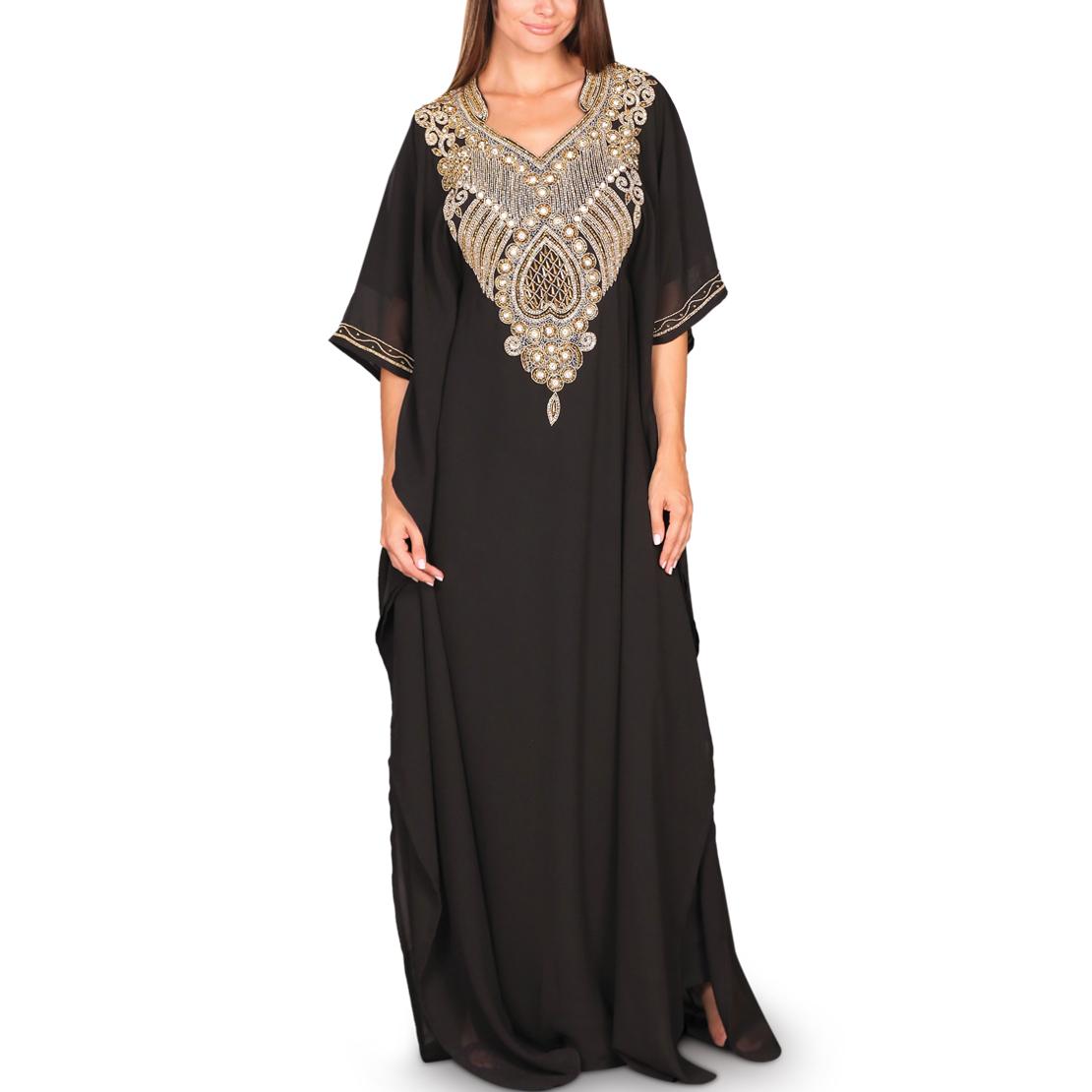 Al Abeer Black Jalabiya