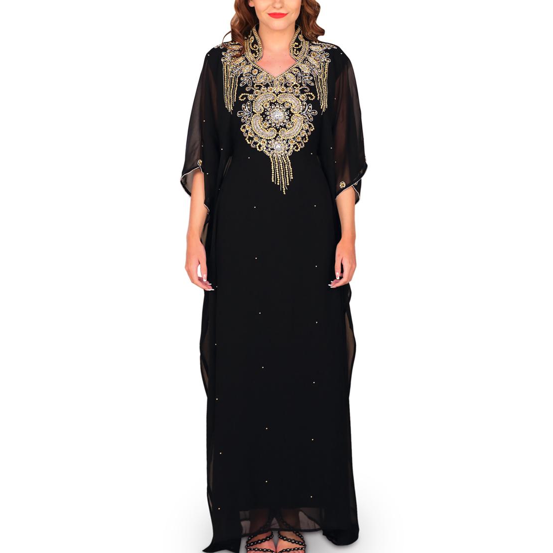 Zeinah Black Jalabiya