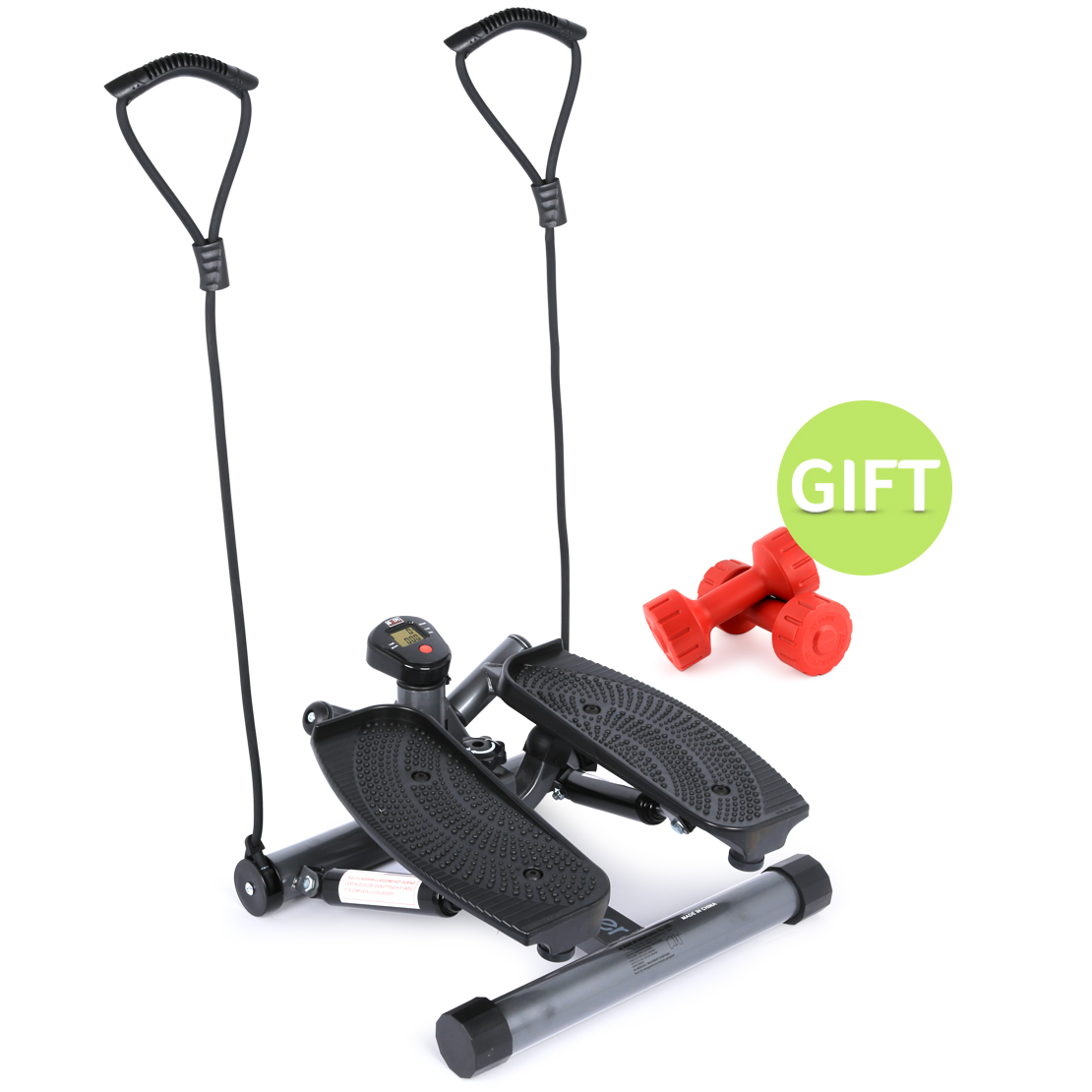 Twist Stepper with Latex Cords with Gift